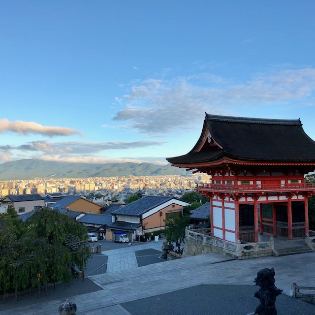 DAY22 世界文化遺産の清水寺へ