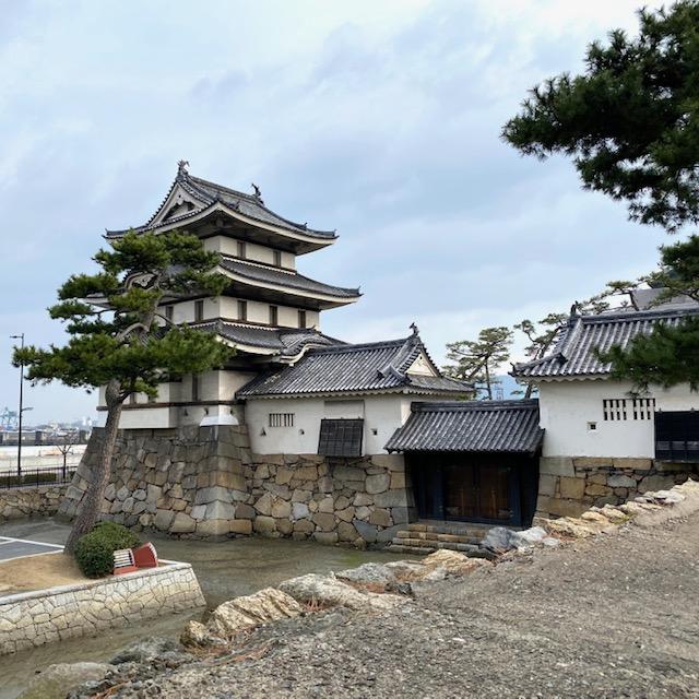 高松城 日本三大水城のひとつ