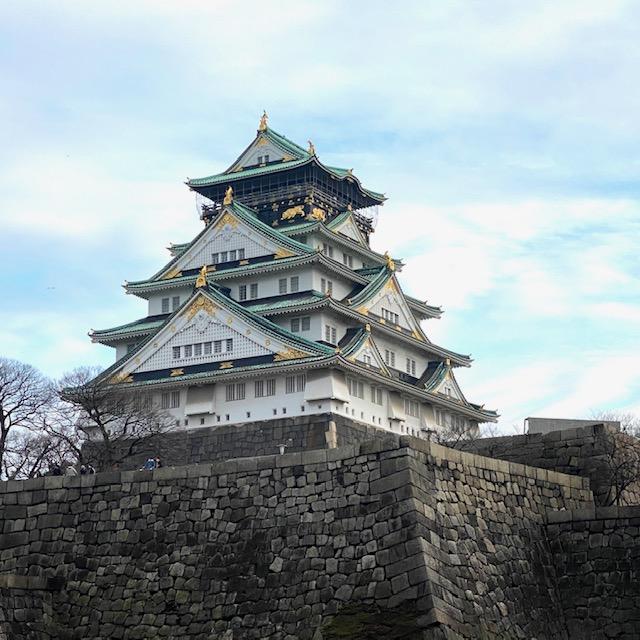 大阪城 豊臣秀吉が築いた日本三名城