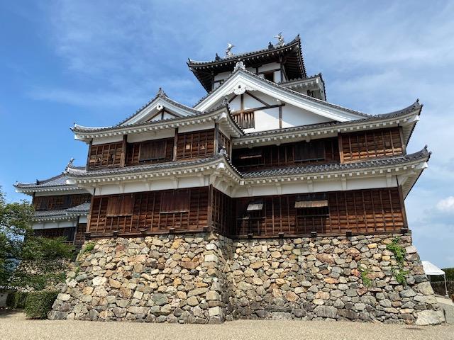 福知山城|丹波平定後の明智光秀が築城