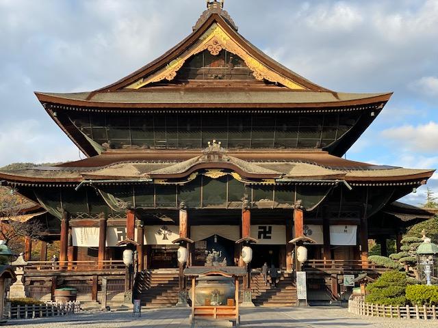 善光寺|日本百観音結願お礼のためにお参り